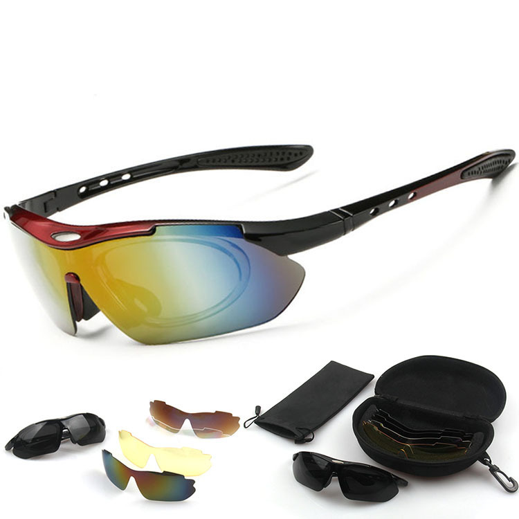New Cycling Eyewear Sunglass Outdoor Cycling Glasses Bicycle Bike UV400 Sports Sun Glasses