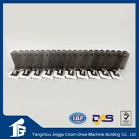 A series metal duplex transmission double roller chains