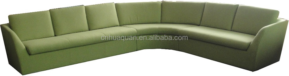 A596#fabric corner leisure leather sofa office sofa bench,china sofa in bench seating