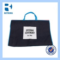 Customized cute brdal non woven garment shopping bag