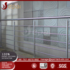 Commercial systems new fence glass balcony stainless steel cable railing design