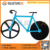 Trade Assurance 430 Stainless Steel and PP Material Bicycle Pizza Cutter