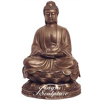 Temple Decoration antique bronze buddha statues