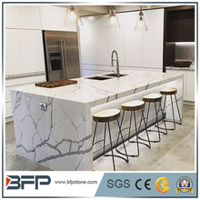 Quartz that looks like marble countertops For Indoor Kitchen
