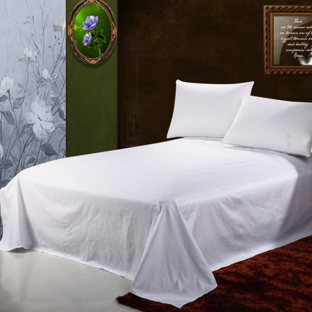 double size high thread count 100% cotton reactive printed bed sheet/bedding set