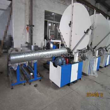 Spiral duct machine for hvac system