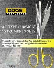 General Surgery Instruments Set Surgical instruments set