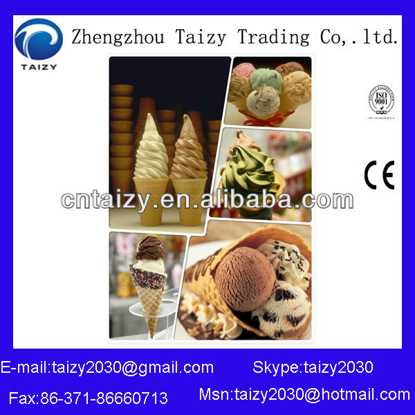 High Quality Multi Heads Ice Cream Cone Maker