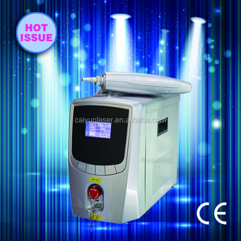 newest 2015 tattoo removal laser T500 Q-switch Nd Yag Laser portable laser