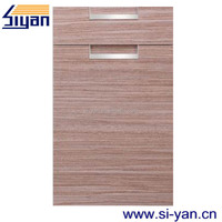vinyl wrap cabinet door for out door kitchen