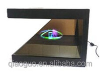 19 inch 3size 3D Holographic display cabinet box Open to watch