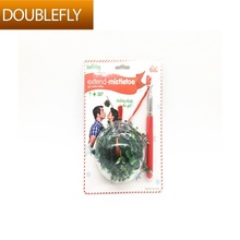 Christmas Holiday Decoration Extended Mistletoe Supplier of Extendable Handheld Mistletoe