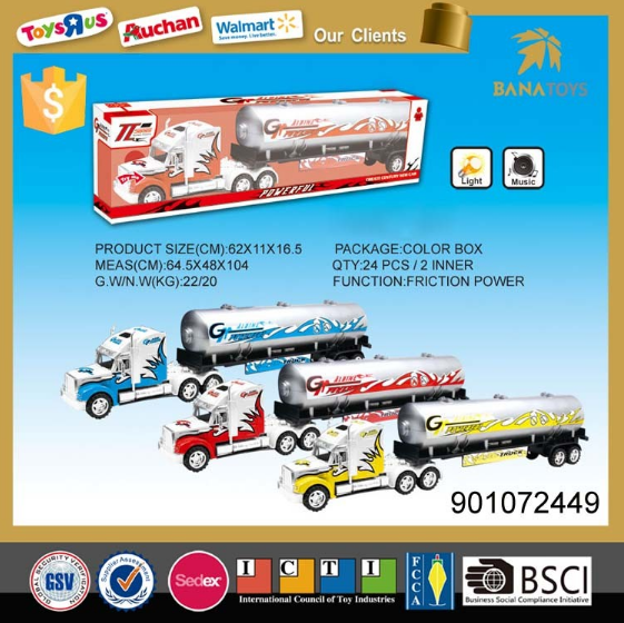 <strong>1</strong>:64 toys 2018 hot wheels toy tanker truck cars for music and light