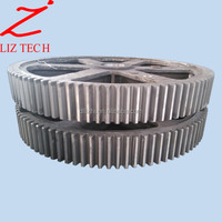 Price of OEM Casting Bevel Gear large Diameter Steel Spur Gear