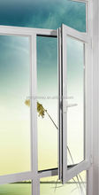 Aluminum casement window with AS2047