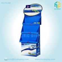 Promotion cardboard display rack for car accessories