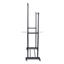 Chrome Drying Rack For Clothes Hanging Parts With Garment Parts