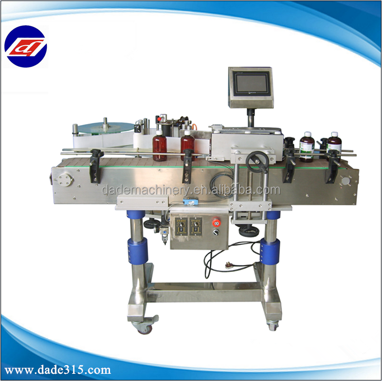 Guangzhou Practical Automatic Round Bottle Labeling Machine For Production Line