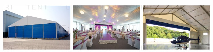 Marquee Tent Structure Used for Wedding Party and Exhibition Event Church