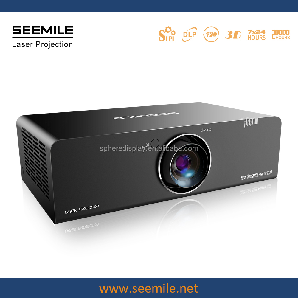 SEEMILE 12000 lumens laser projector,Planetarium projector,a large screen splicing Technology large scale outdoor projector