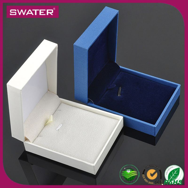 Import Cheap Goods From China Necklace White Blue Paper Custom Gift Boxes Small Quantity