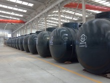anti-corrosion free of reparation double wall petroleum storage tank