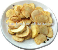 Fried potato(snack) vegetable chips