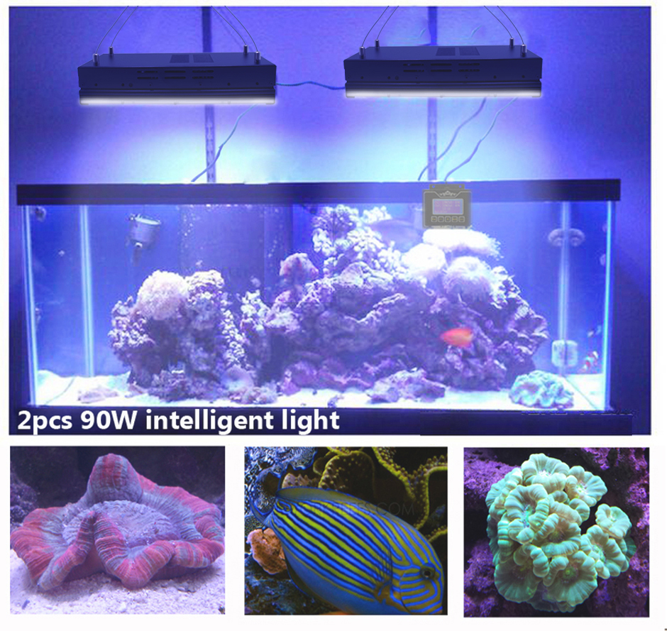 2016 Newest android wifi led aquarium light with sunrise sunset storm cloudy