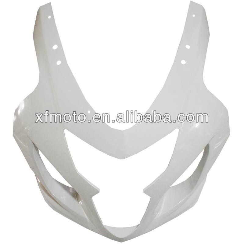 For SUZUKI GSXR600 GSXR750 2004 2005 K4-750 Wholesale ABS Unpainted Upper Front Fairing