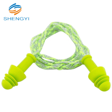 Best sale noise silicone ear plug with string