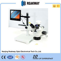 Best sale,Top Quality LCD boom stand Zoom Stereo Microscope/LCD digital Microscope