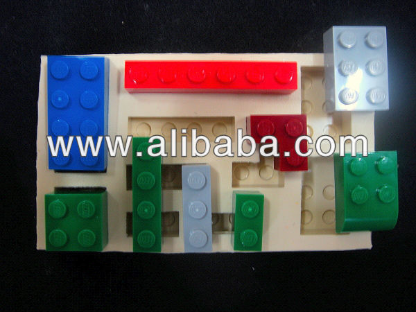 Sugarcraft silicone mold Fondant mould LEGO