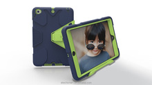 Geometric figure pattern protective case PC silicon for iPad mini 123