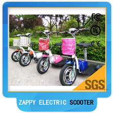 CE approved 3 wheel 500 W 48v electric tricycle scooter for adult or disable