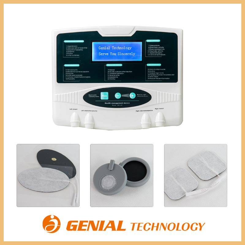 Multifunction personal electric massage therapy machine