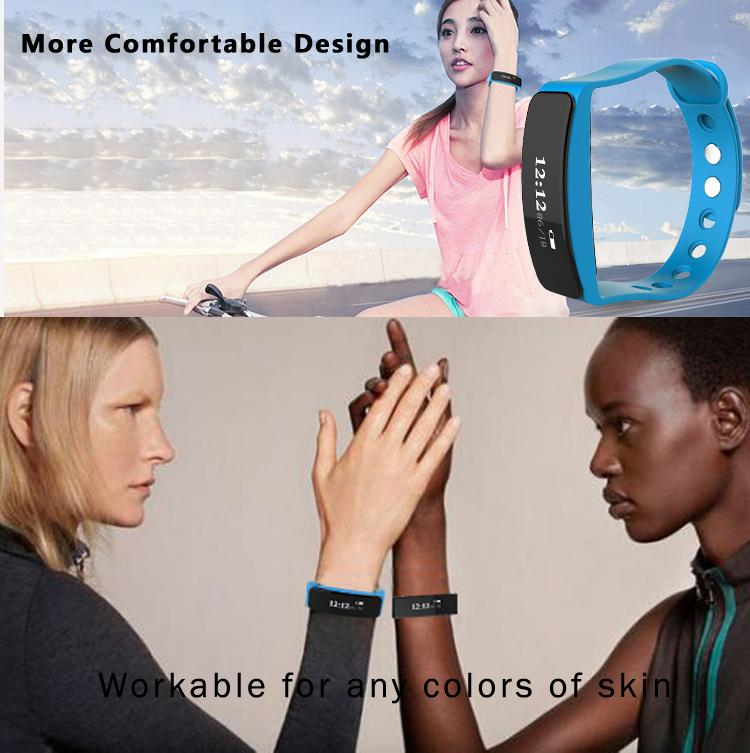 OEM/ODM manufacture health sport bracelet waterproof bluetooth fitness watch smart with customized SDK