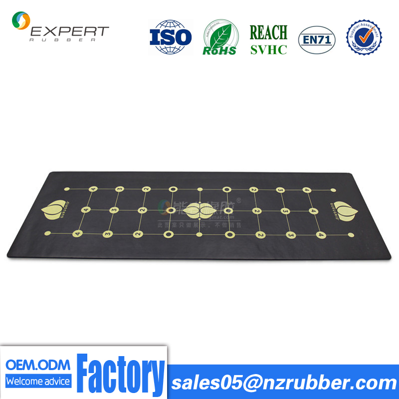 Wholesale high quality fitness eco friendly decorative PU yoga mat