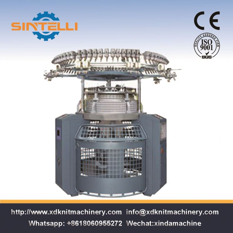 Four/Six 4 Color Auto Striper 6 Colors Knitting Machine
