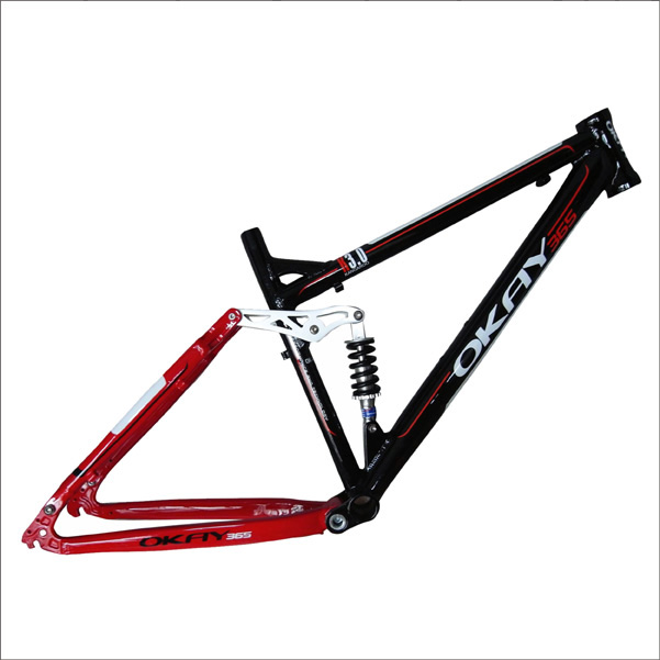 Chinese mtb frame 29er full suspension aluminum carbon mountain bike frame
