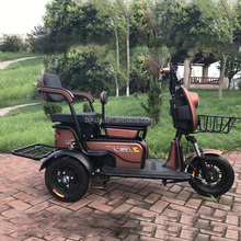 3 wheel 26inch 500w fat tire cargo electric tricycle with disk brake