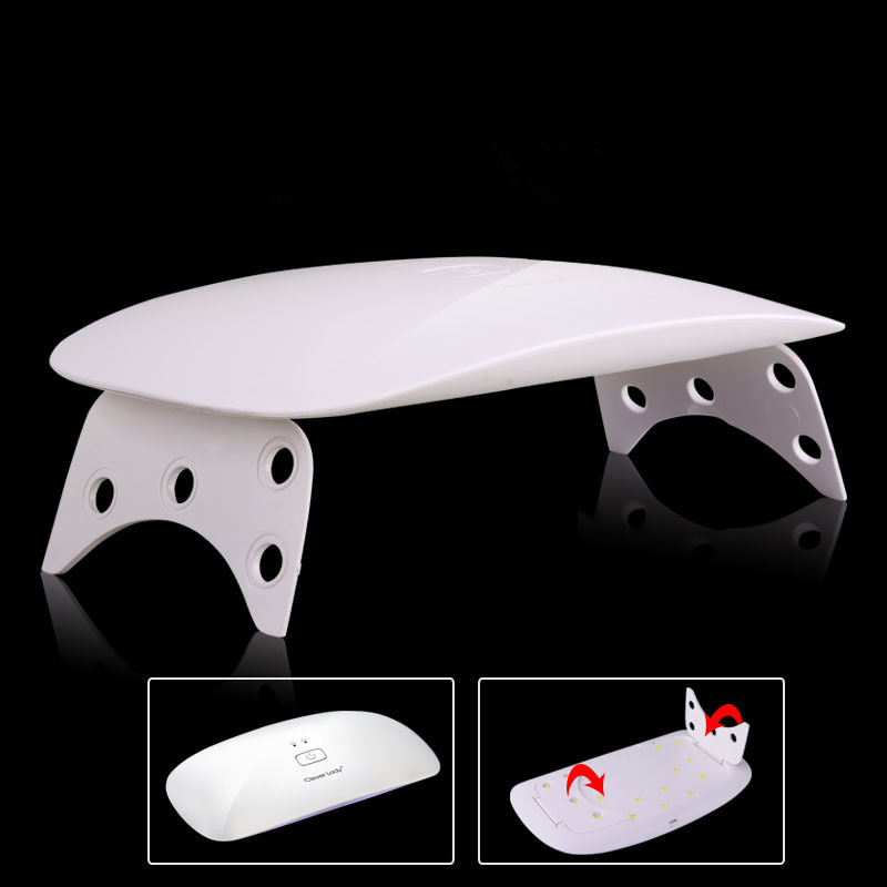 Hot sale new better professional 24w mouse shape nail lamp uv light nail dryer curing lamp