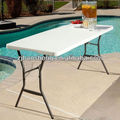White Granite 5ft Light Commercial Fold In Half Table