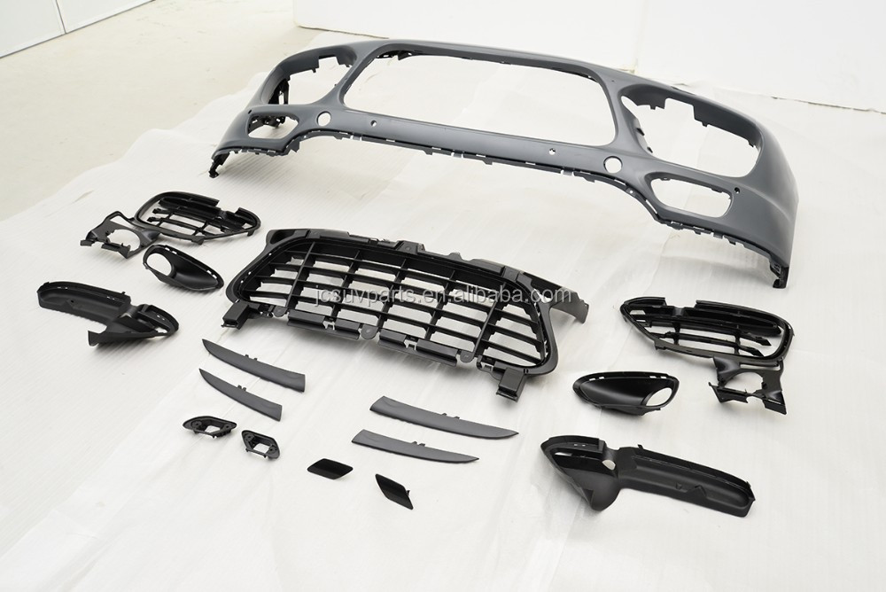 PP Front Bumper with Led Body Kit for Porsche Cay enne 2011