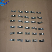 99.95 high purity and silver gray tungsten boat price per kg