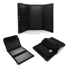 20W Portable Folding Solar Panel / Solar Charger Bag with USB Voltage Controller for Laptops / Mobile Phones, 18V / 5V