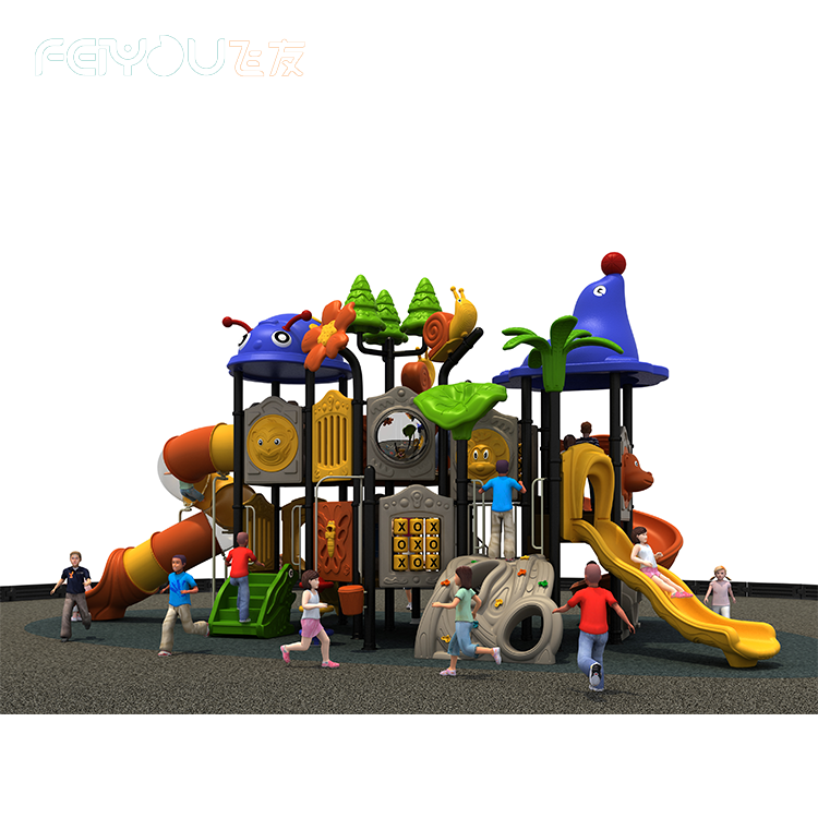 Commercial Forest Adventure Theme Outdoor Playground For Sale