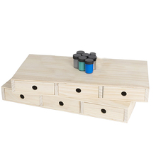 Wholesale luxury small wood storage MDF drawer box