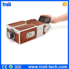 Mini Projector Smartphone! Universal Portable Home Projector V2.0 Latest Projector Mobile Phone