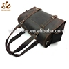 Low price handbag dual round shoulder straps waterproof tote travel leather duffle mens sports bag