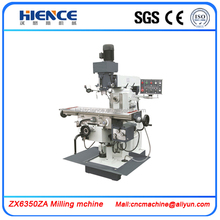 portable milling machine zx6336B universal milling machine prices